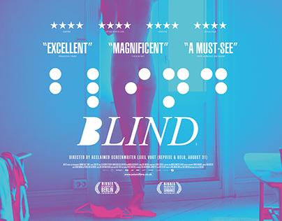 Blind UK Quad Poster