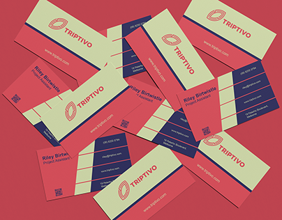 Colorful Basic Business Card Design
