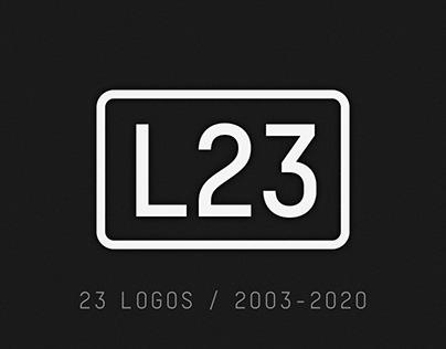23 Logos / 2003-2020