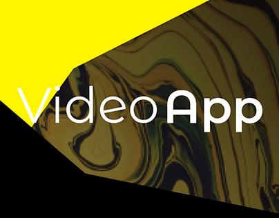 VideoApp design