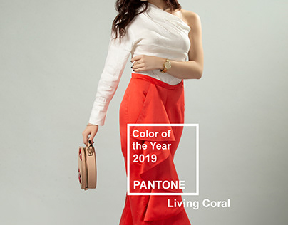 Living Coral- Styling