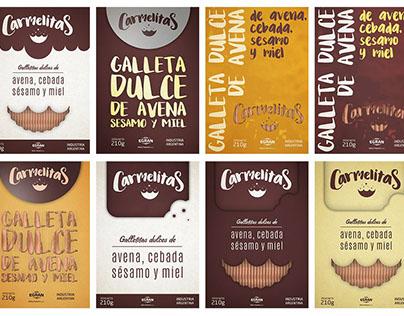 Carmelitas - Diseño de Packaging