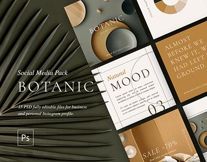 Botanic Studio | Social Media Pack