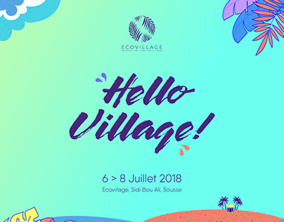 Event Identity Hello Village