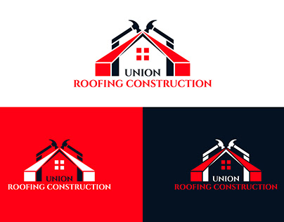 Roofing logo, Union Roofing Construction