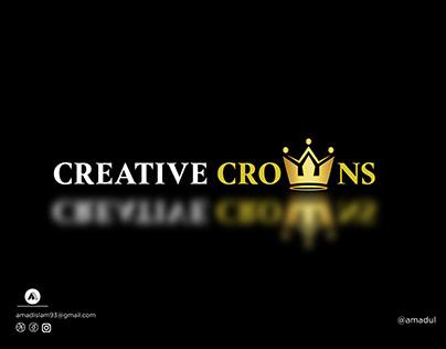 Crown Logo   Modern Logo   Logo Design