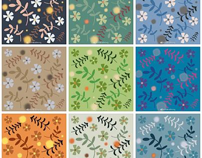 Flower Patterns, wallpaper