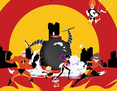 Illustration: The Incredibles Movies