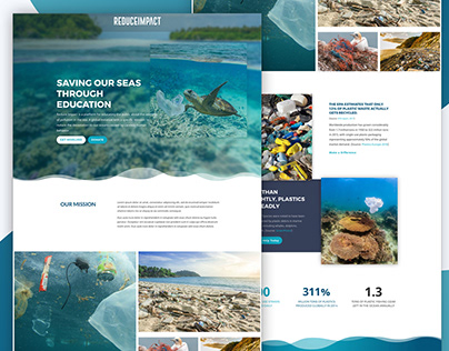 Ocean Conservation Website