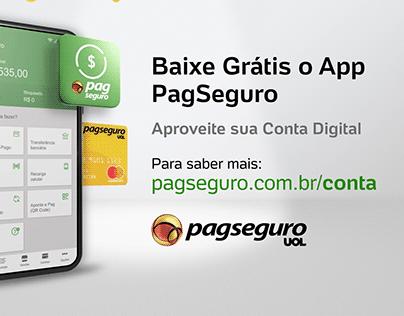 Cartelado Conta Digital PagSeguro