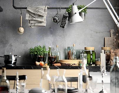 Hans's dream kitchen