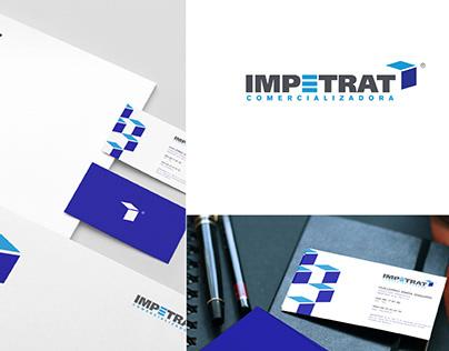 IMPETRAT Comercializadora - Logo and Stationary design