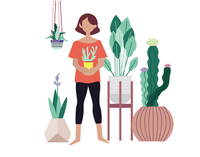 Illustrative history of gardening
