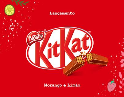 Lançamento Kitkat Morango e Limão