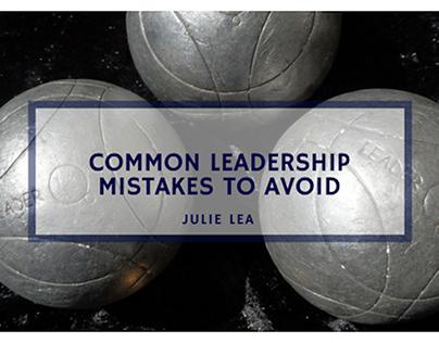 Common Leadership Mistakes to Avoid
