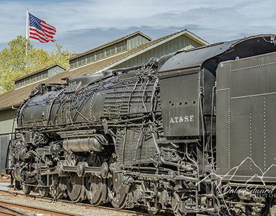 Engine 2925 of the Atchison, Topeka, & Santa Fe Railway