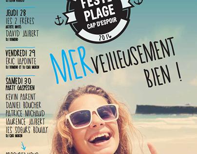 Festi-plage de Cap d'Espoir (Lauréat)