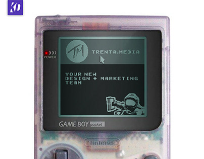 Website on Gameboy