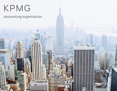 KPMG Website Concept