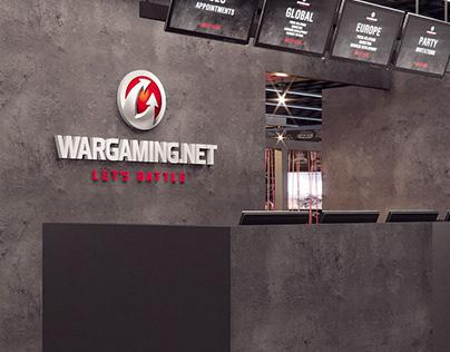 Wargaming B2b Booth at the Gamescom 2017