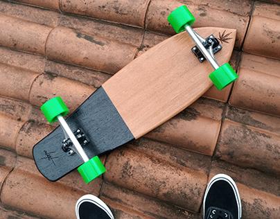 Custom board -Volátil Design - Cannabis