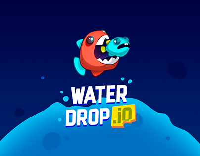 Mobile Game Water Drop io