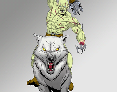 Azog the pale