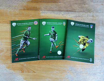 2019 Ireland U21 Match Programme Covers