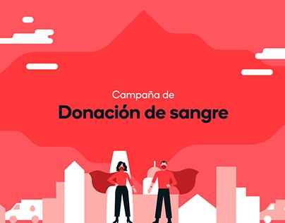 Donación de Sangre   Campaña