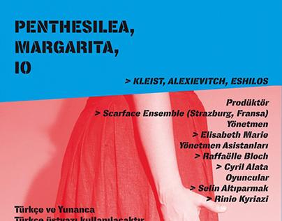 Penthesilea, Margarita, Io