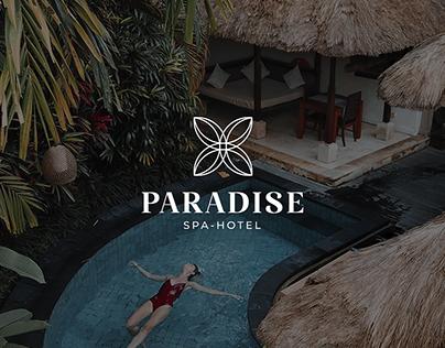 """Логотип для спа-отеля """"PARADISE"""""""