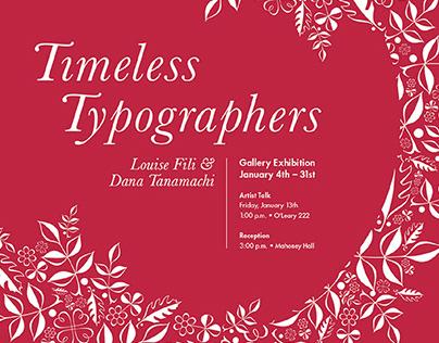 Timeless Typographers