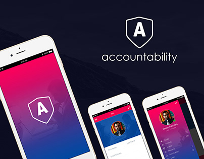 Accountability App UI DESIGN