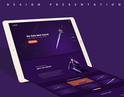 Sword Sale Page Template