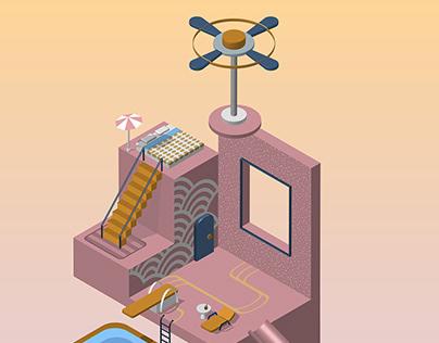 Quarantine dream house