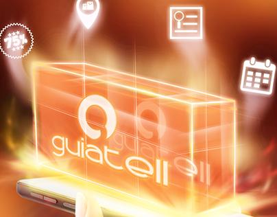 Anúncio Aplicativo GuiaTell