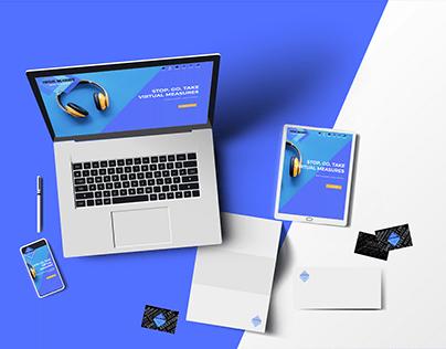 Virtual Measures - Bespoke Webdesign / Wordpress dev