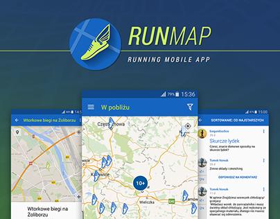 2016: RUNMAP - mobile app for runners