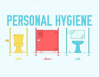 Infographic - One Week of Personal Hygiene