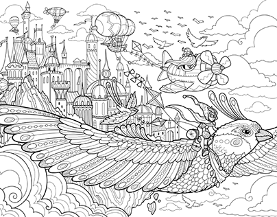 Lineart | coloring books