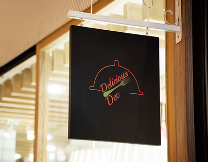 Restaurant Logo Mock Up