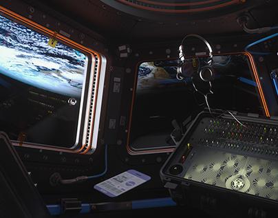 ISS CUPOLA |Deckar's dream synthesizer