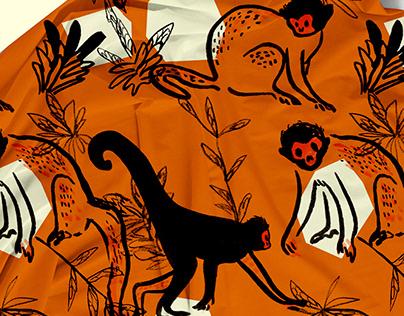 """Print Collection """"La Mansión del Pájaro Serpiente"""""""