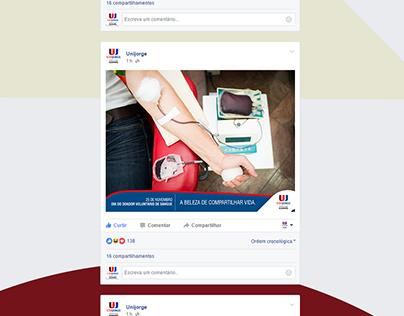 Posts para Facebook da UJ