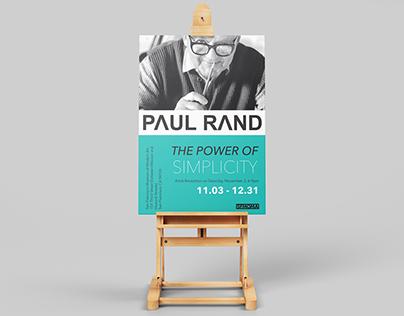 Paul Rand Poster