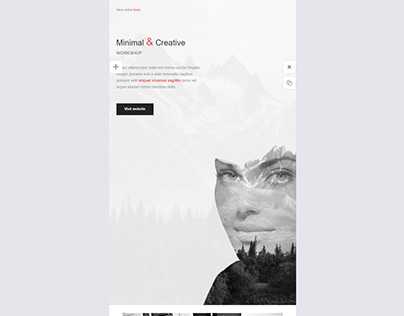 Email Template 1(Mailchimp)