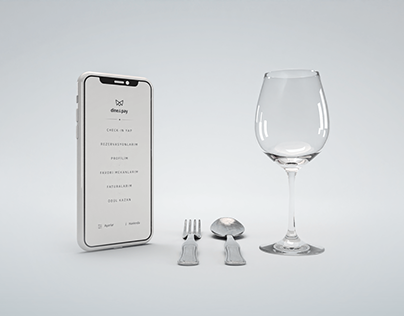 Dine&Pay Mobile App UI/UX and Logo Design (2016)