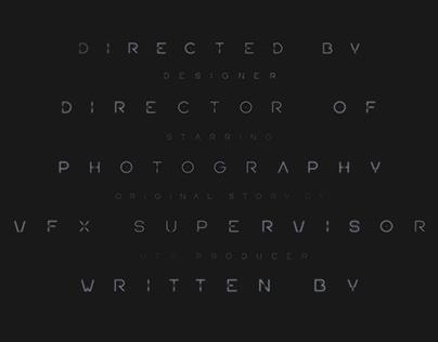 'POLIS' Typeface