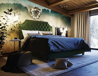 """""""Christmas breathe"""" for hotel room by AIR Studio"""