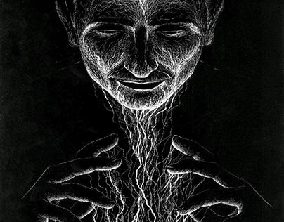 Nikola Tesla- conceptual portrait